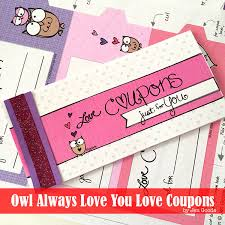 10 Valentines Day Coupon Book Free PRINTABLES! This book is adorable and has a cute Owl Theme for it! It is unique