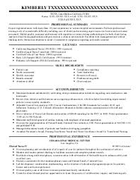 customer service representative resume examples   healthcare    kimberly t    nurses resume   van nuys  california