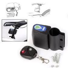 Bicycle Bike Wireless Alarm Lock with Remote Control Anti ... - Vova
