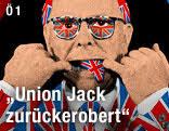 """ORF.at: """"Union jack zurückerobert"""". Ausschnitt aus Gilbert & Georges """"UNION DANCE"""" - link_oe1_gilbert_and_george_1k_a.2077045"""