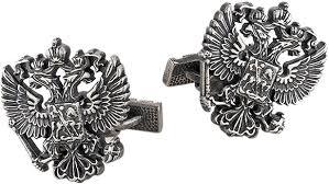 Серебряные <b>запонки KU&KU 1543760A-7</b> — купить в интернет ...