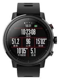 Купить Часы <b>Amazfit Stratos черный</b> по низкой цене с доставкой ...