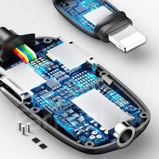 Аудио-переходник <b>Baseus</b> L51 3-in-1 <b>Lightning Male</b> to Dual iP ...
