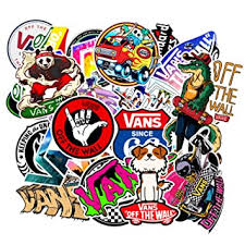 <b>100 Pcs Fashion</b> Vans Stickers for Laptop Stickers: Amazon.in ...