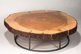 turn tree stump into coffee table awesome tree trunk coffee table