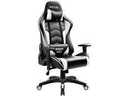 Homall Gaming <b>Chair Thickened</b> High-Back and Bucket <b>Seat</b> ...