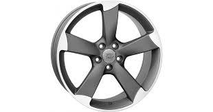 <b>WSP Italy W567 Giasone</b> Matt Gunmetal Polished Alloy Wheels ...