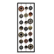 mirror wall decor circle panel: metal mirror wall decor circle panel ii from bed bath amp beyond this would