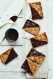 <b>Crunchy</b> Baked <b>Granola Bars</b> | Minimalist Baker Recipes