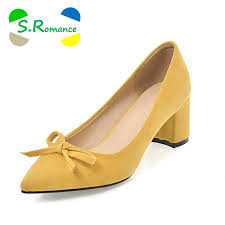 S.Romance <b>Plus Size 34 43</b> Women Pumps New <b>Fashion</b> Elegant ...