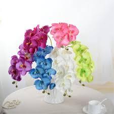 2019 <b>Nienie</b> 8 <b>Heads</b> 70cm Artificial Flower Phalaenopsis Silk Real ...
