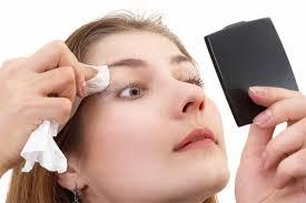 Resultado de imagem para retirar a maquiagem
