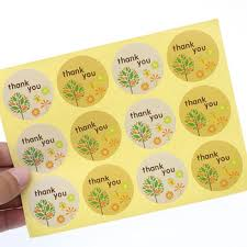 120pcs/6 Sheets Label Especilly <b>For</b> You Sticker Rectangular Black ...