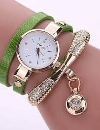 <b>Women's</b> Bracelet Watch Casual <b>Fashion</b> Black Red <b>Fuchsia PU</b> ...