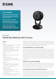 <b>Full HD Ultra</b>-Wide View Wi-Fi Camera