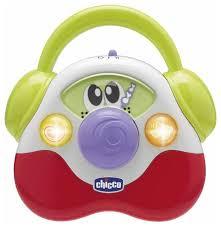 """Интерактивная <b>развивающая игрушка Chicco музыкальная</b> """"Радио"""""""