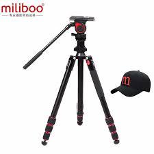 <b>miliboo MTT701</b> Professional Video tripod <b>Aluminum</b> Camcorder ...