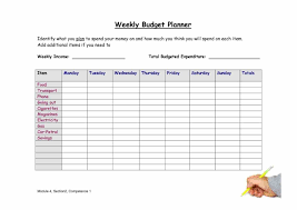 college student a crash course in how to do it as well some sample weekly budget planner template