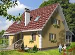 Фото проект одноэтажного дома с мансардой