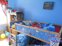 hit bedroom cool kids room design idea with blue wall paint color idea and bunk bed along with wooden bedroom furniture and glass windows attractive wall boy girl bedroom furniture