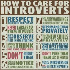 for the introvert caring for the introvert