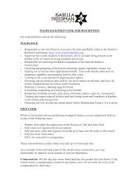 cooking helper resume great line cook resume example brefash