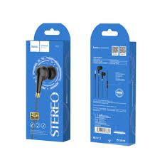 Sound | Earphones | <b>Hoco M58</b> Wired Earphones with Mic (Black ...