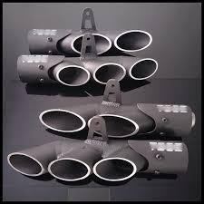 2019 <b>TOCE</b> 38 51mm <b>Universal</b> Exhaust Pipe <b>Dual</b> Tail Pipe Slip On ...