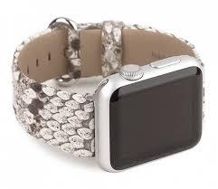 Купить Ремешок Marcel Robert Watch 38/40 мм, питон, <b>серый</b> ...