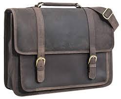 "Gusti Leder studio ""Greg"" <b>Genuine Leather Business Briefcase</b> ..."