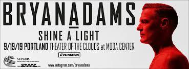 <b>Bryan Adams</b>: <b>Shine</b> a Light World Tour - Rose Quarter
