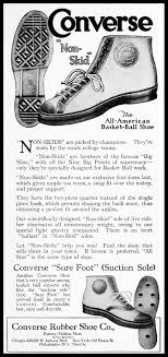 chuck taylor all stars ad from 1920 for the forerunner of the chuck taylor all star converse non skids