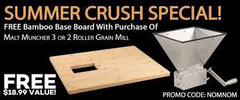 MaltMuncher THREE Roller <b>Grain</b> Mill – $149.99 + Free Shipping ...