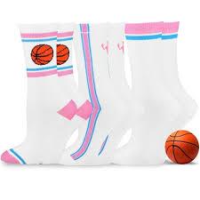 TeeHee Cotton <b>Unisex</b> Soccer Sports Team <b>Flat Knit</b> Socks 3 Pack