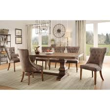 Dining Room Sets Atlanta Glass Round Dining Table And White Chairs Imanada