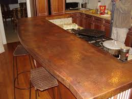 copper kitchen countertops cost image of copper sheeting for countertops