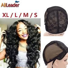 Дешевые парики класса 10 Alileader волосы черные <b>шапки</b> 1 шт ...