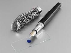 <b>CARAN D'ACHE Varius</b> Ivanhoe Ballpoint <b>Pen</b> (rhodium coated ...