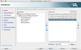 object types in adfc using view and entity objects view object attributes