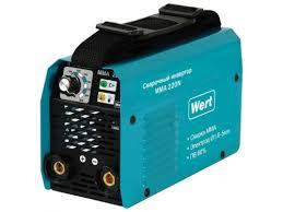 Купить <b>сварочный аппарат Wert MMA</b> 220N по цене от 5440 ...