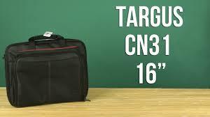 """Распаковка <b>Targus Notebook</b> Case 16"""" Black CN31 - YouTube"""