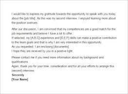 Thank You Email After Second Interview – 5+ Free Sample, Example ... Format of Thank You Email After Second Interview Template