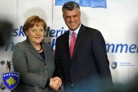 Merkel und Thaci, die barmherzigen Engel