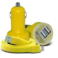 (Yellow) Sony Xperia <b>C6 Car Charger Dual</b>- Buy Online in Sri Lanka ...