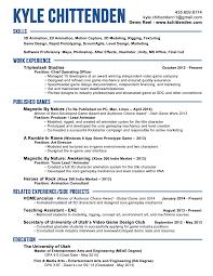 animation resume doc tk animation resume