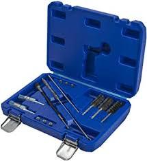 <b>14</b>-<b>piece</b> set. Cleaning Glow Plug Shaft <b>Injector</b> Seat Cylinder Head ...