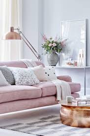Pink Living Room Furniture 16 Ultra Chic Blush Pink Sofas How To Style Them