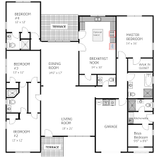 Ghana  Latania Luxury House Floor Plans