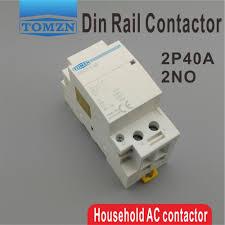 CT1 <b>2P 40A 220V/230V</b> 400V~ 50/60HZ Din rail Household ac ...