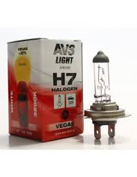 Галогенная <b>лампа AVS Vegas H7</b>.12V.55W (1 шт.) купить с ...
